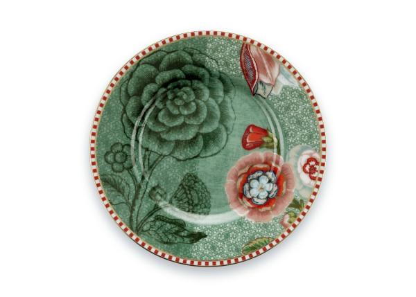 Petit Four Teller Spring to Life Grün