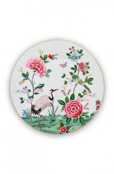 Platzteller Blushing Birds Weiß von PIP Studio