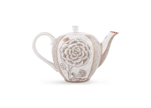 Teekanne Klein Spring to Life Off White