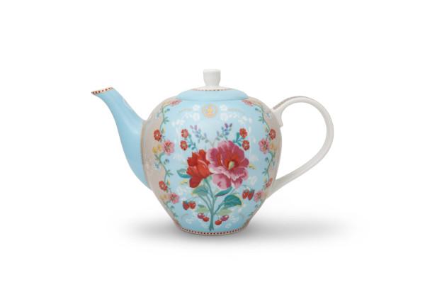 Teekanne Rose Blue