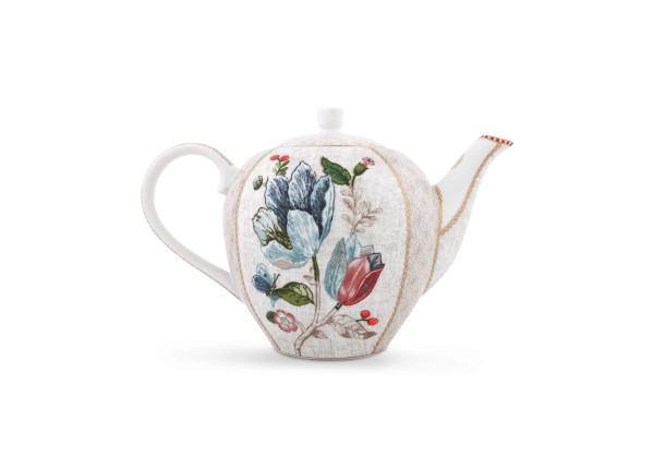 Teekanne Spring to Life Off White