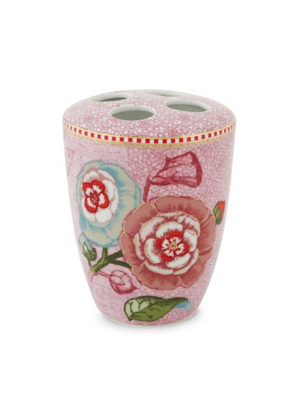 Zahnbürstenhalter Spring to Life Pink von PIP Studio