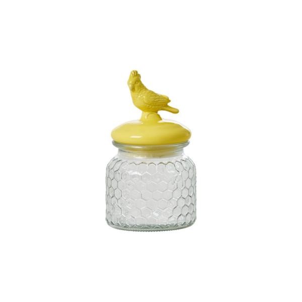 Aufbewahrungsglas Kakadu Gelb