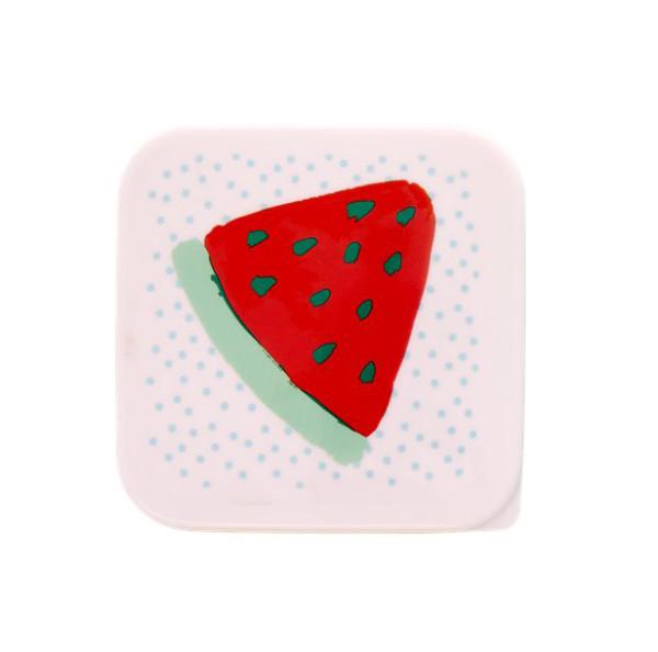 Brotdose mit Melonen Print