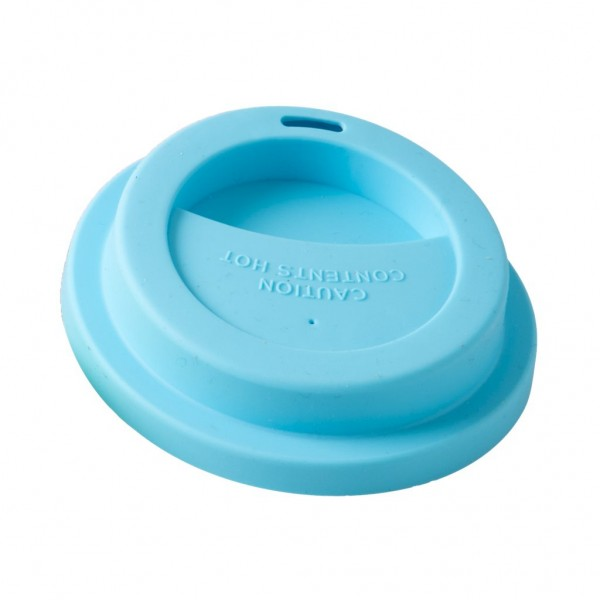 Silicone Lid for Melamine Latte Cups in Blue von Rice