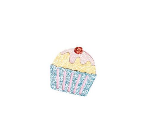 Glitzer Brosche Cake von Rice