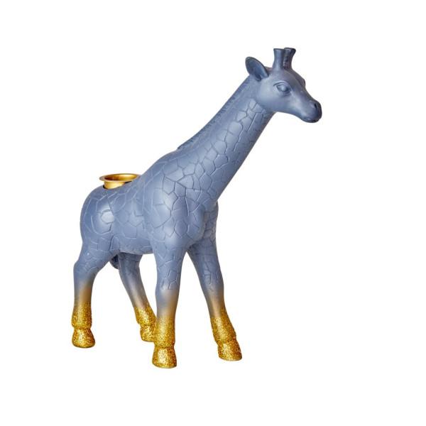 Kerzenständer Giraffe Glitter von Rice