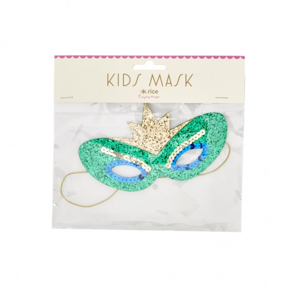 Kinder Pailetten Maske Fairy von Rice