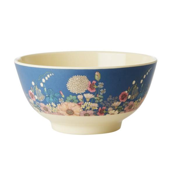Melamin Müslischale Flower Collage von Rice
