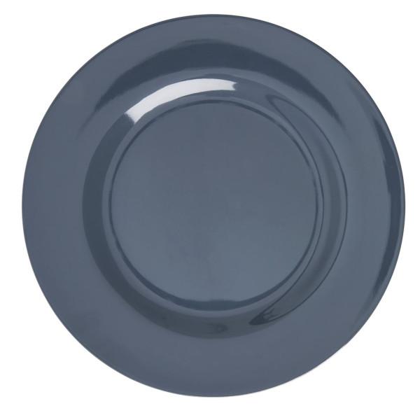 Melamin Teller Dark Grey von Rice