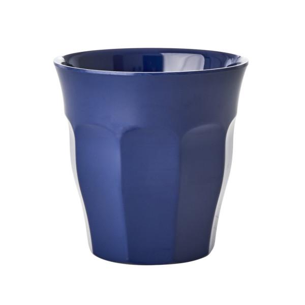 Melamin Becher Navy Blue von Rice