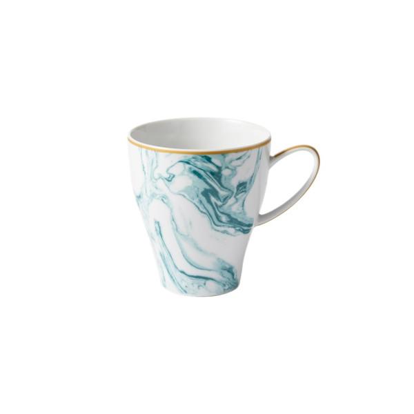 Porzellan Tasse Marble Jade