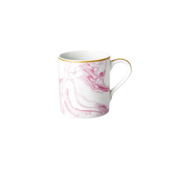 Porzellan Tasse Marble Bubblegum Pink