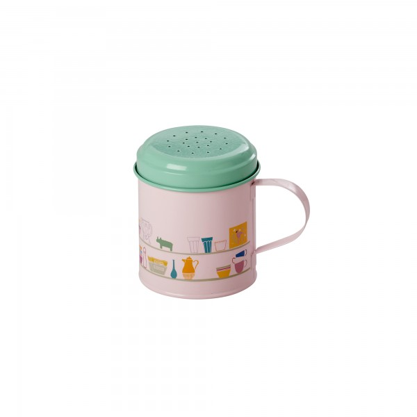 Puderzuckerstreuer Emaille Charlottes Cupboard Soft Pink