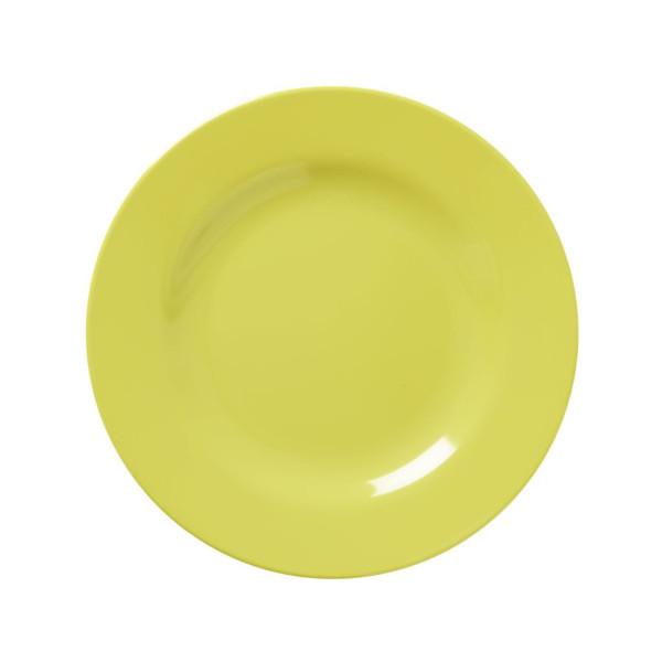 Melamine Teller Shine Gelb