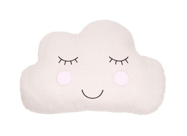 Kissen süße Träume Wolke Beige