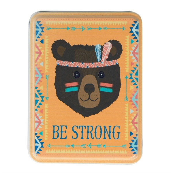 Metalldose Tribal Adventure Be Strong Bear