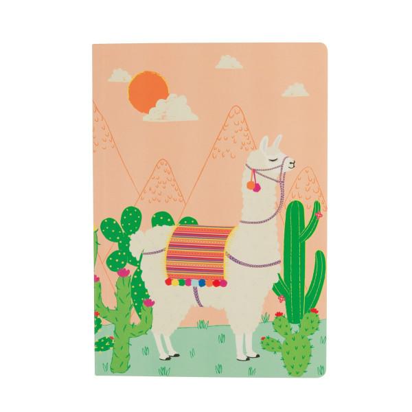 Notizbuch A5 Lima Llama