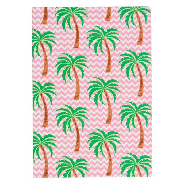Notebook A5 Tropical Summer Palme