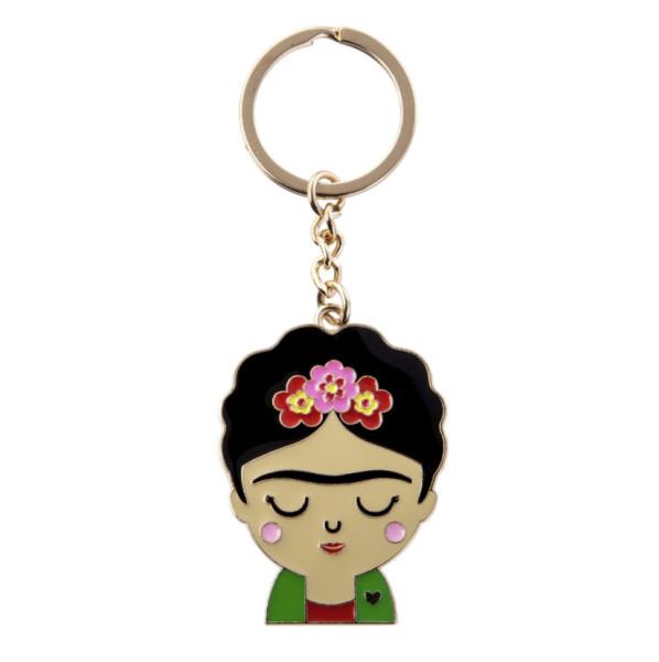 Sass & Belle Schlüsselanhänger Frida Emaille