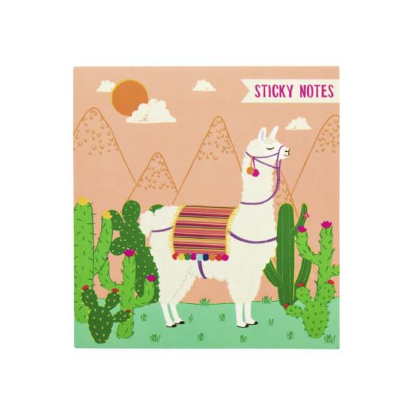 Sticky Notes Lima Llama