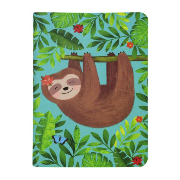 Taschen Notizbuch Sloth and Friends