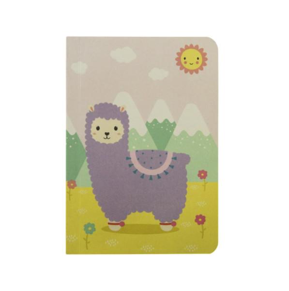 Taschen Notizbuch Little Lama