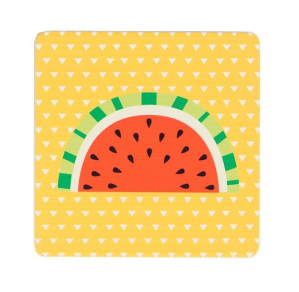 Untersetzer Tropical Summer Melone