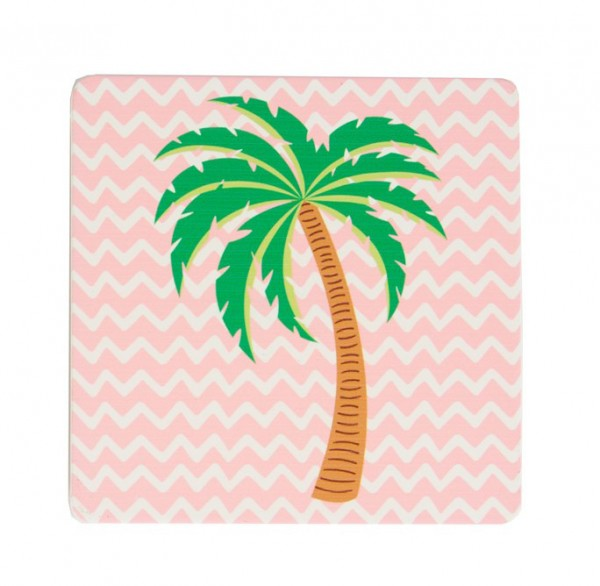 Untersetzer Tropical Summer Palme