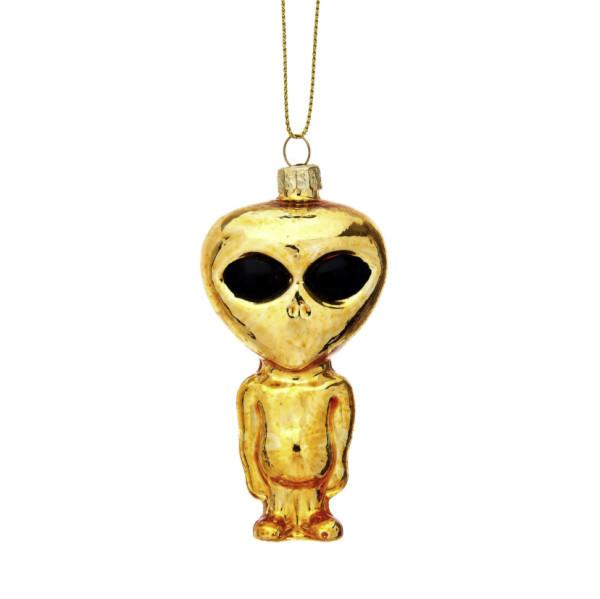 Glaskugel Alien Gold von Sass & Belle