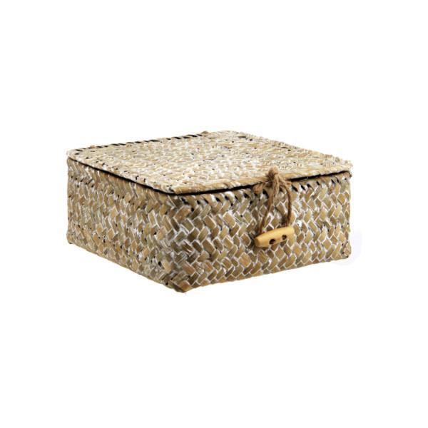 Kleiner Korb aus Stroh von Sass & Belle