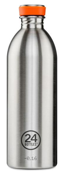 Trinkflasche Steel 1L von 24bottles