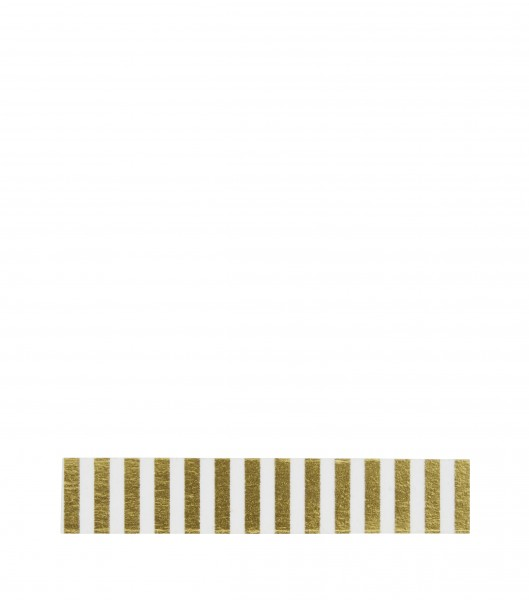 Tape Streifen Gold