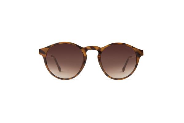 Sonnenbrille Devon Metal Rose Gold von Komono
