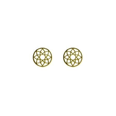 Ohrringe Mandala Gold von Timi