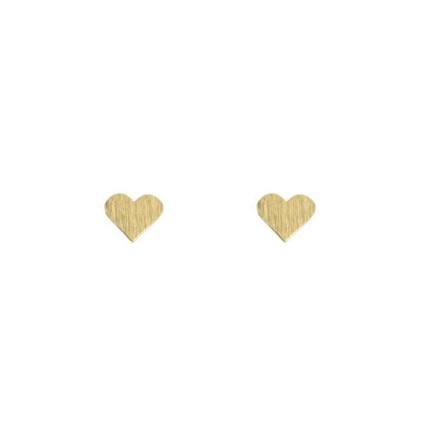 Ohrringe Kleine Herzen Gold von Timi