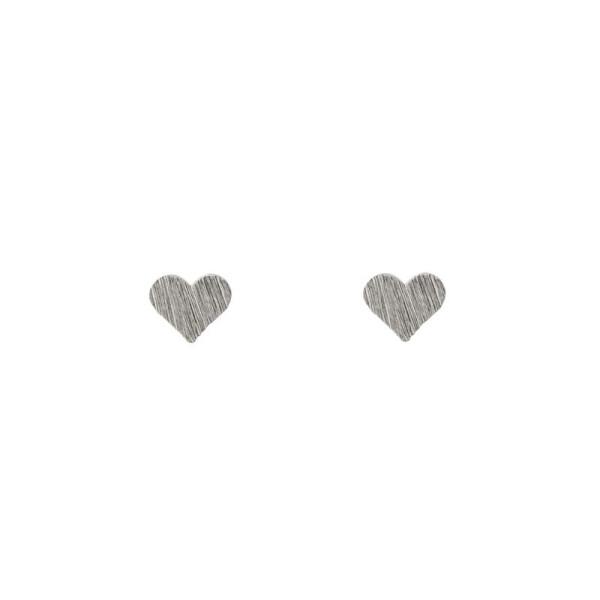 Ohrringe Kleine Herzen Silber von Timi
