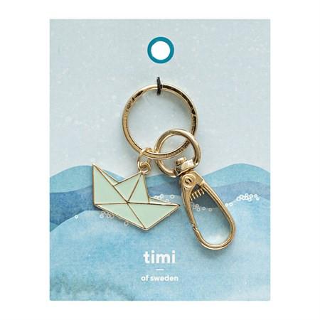 Schlüsselanhänger Papierboot von Timi