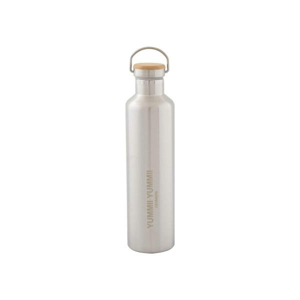 Thermosflasche mit Bambus Deckel 1L von Yummii Yummii