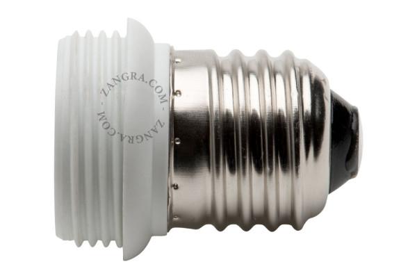 E27 Adapter für E14 Glühbirne