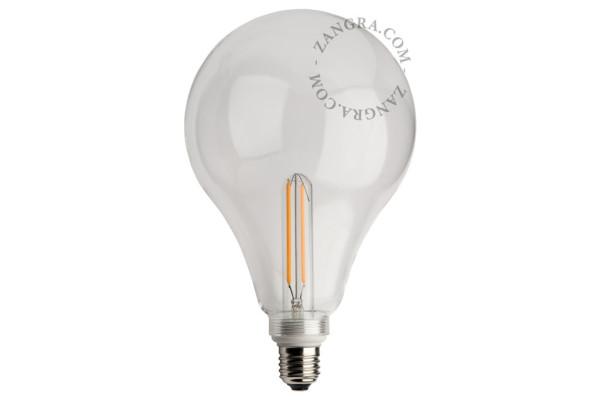LED Glühbirne Drop Clear
