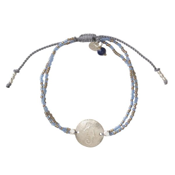 A Beautiful Story Armband Daydream Lapislazuli Silber