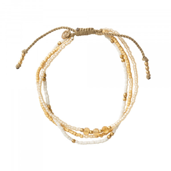 Armband Gentle Citrin Gold von A Beautiful Story