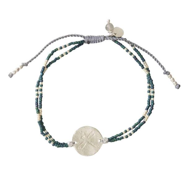 A Beautiful Story Armband Glitter Labradorite Silber