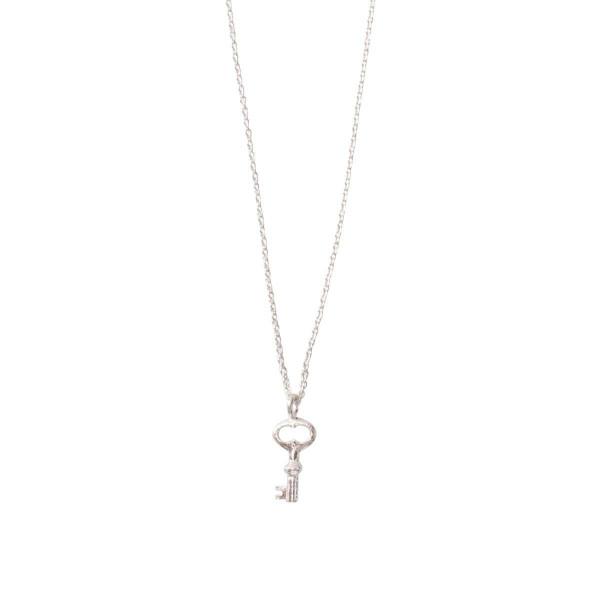 A Beautiful Story Kette Delicate Schlüssel Silber