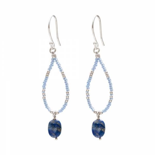 A Beautiful Story Ohrringe Enjoy Lapis Lazuli Silver