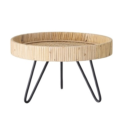 Sockel-Tisch Rattan von Bloomingville