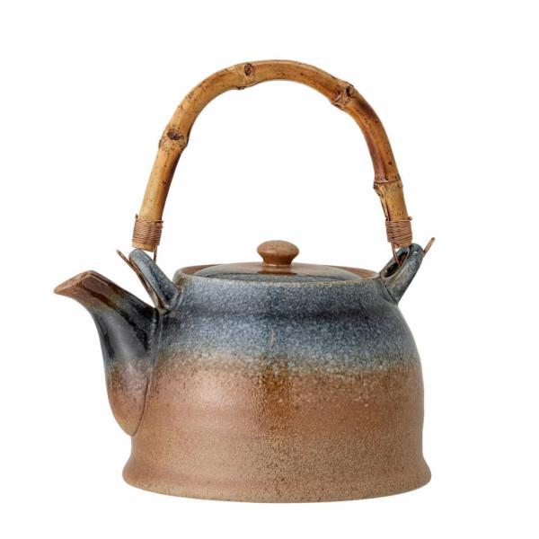Bloomingville Teekanne mit Teesieb Aura Blue