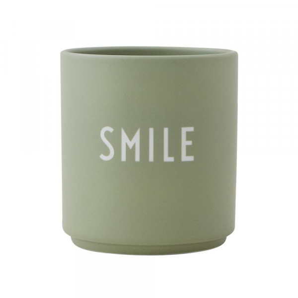 Design Letters Porzellan Becher SMILE