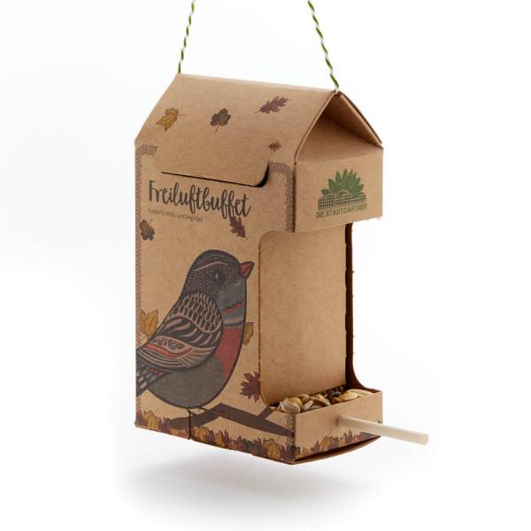 Freiluftbuffet Vögel von Die Stadtgärtner